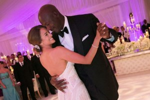 Michael Jordan and Yvette Prieto wedding.