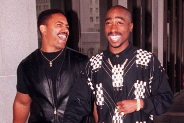 Frank Alexander with Tupac