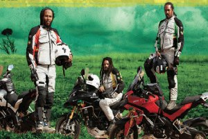 Ziggy, Robbie and Rohan Marley