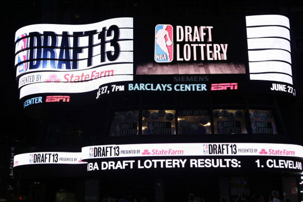 2013 NBA Draft to be broadcast live in Time Square