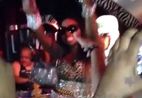Foxy Brown Falls Hard On-Stage In NYC (Video)