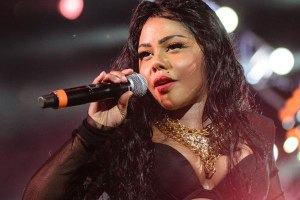 Lil Kim performs at Summer Jam 2013