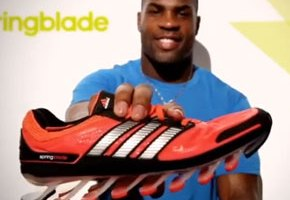 Athletes React To The Adidas Springblade Running Shoe (Video)