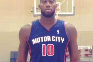 Detroit Pistons - Motor City uniform