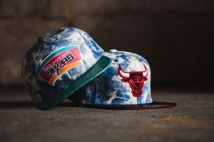 Just Don Fall 2013 Acid Wash Denim Snakeskin Strapback Capsule