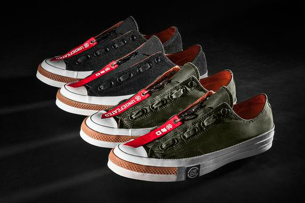 2908e69ef0ee Converse Readies UNDFTD x CLOT Chuck Taylor All Star Collection