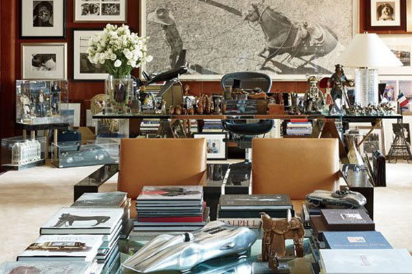 Inside Ralph Laurens Offices Homes Photos