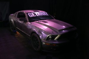 'Getaway' Q&A Hosted By Xzibit, Film's Shelby Mustang (Photos)