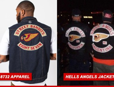 Young Jeezy 8732 Apparel vs Hells Angels