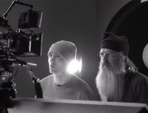 Behind The Scenes Of Eminem's Video For 'Berzerk'