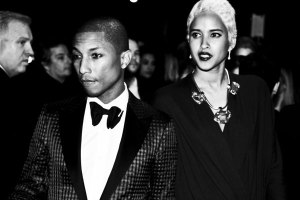 Pharrell and girlfriend/model Helen Lasichanh