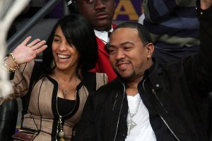 Timbaland and Monique Mosley