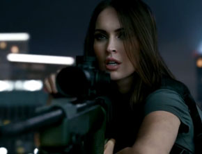 Call of Duty: Ghosts trailer Megan Fox