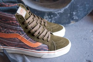 Vans California Holiday 2013 Suede & Woven Textiles capsule