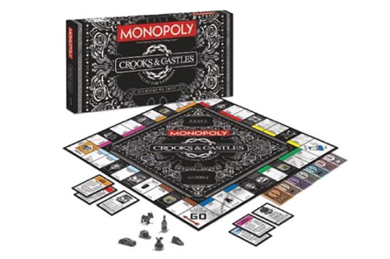 Crooks & Castles x Monopoly Board Game