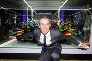 Artist Jeff Koons Debuts BMW Art Car At Miami's Art Basel