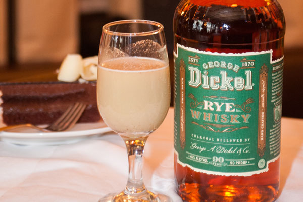 General Harrison's Egg Nogg w Dickel Rye