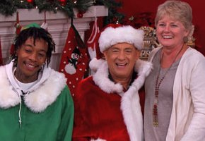 Tom Hanks Gets Assist From Wiz Khalifa For Christmas Card