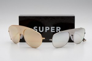 Super Sunglasses Unveils 'Full Metal' Aviator Frames