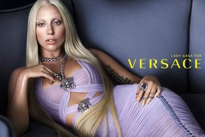 Lady Gaga For Versace Spring 2014 Campaign