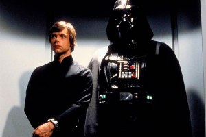 Luke Skywalker and Darth Vader