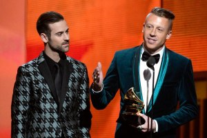 Macklemore & Ryan Lewis at 2014 Grammys