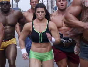 Danica Patrick Bulks Up In Leaked Super Bowl Ad