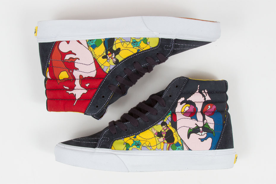 c4787ce115 Vans x The Beatles  Yellow Submarine  Footwear Capsule