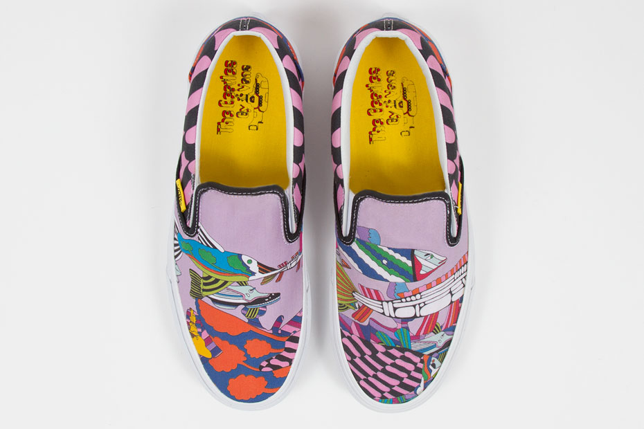 3fd74bd9bf Vans x The Beatles  Yellow Submarine  Footwear Capsule