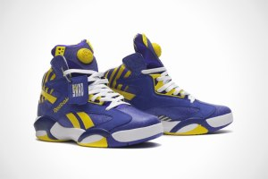 Reebok Shaq Attaq purple/yellow