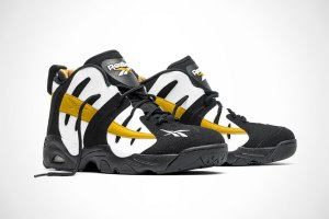 Reebok The Rail 'Black/White/Gold'