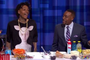 Wiz Khalifa Makes S'Mores With Arsenio