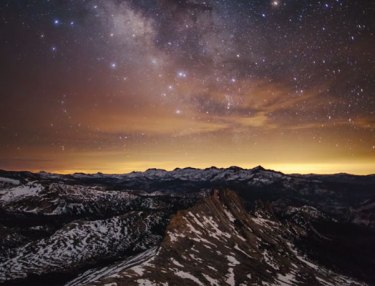 Time-Lapse Of California's Yosemite National Park