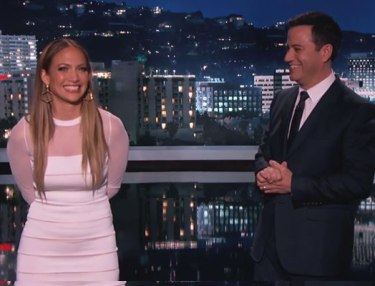 Jennifer Lopez, Jimmy Kimmel Translate 'I Luh Ya Papi'