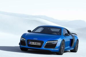 Audi R8 LMX -- first production car with laser high beams