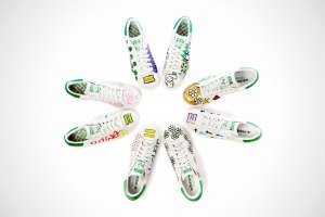 Adidas Originals Hand-Painted Stan Smith's By Pharrell