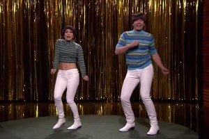 Jimmy Fallon, Jennifer Lopez 'Tights Pants' Battle