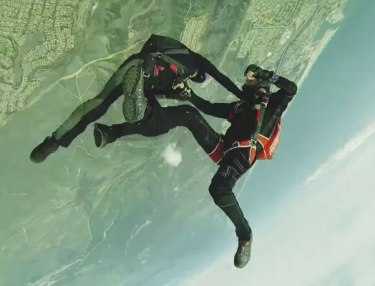 New Sport Alert: Full Contact Skydiving?