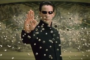 'The Matrix Reloaded' Fight Scene In 8-Bit