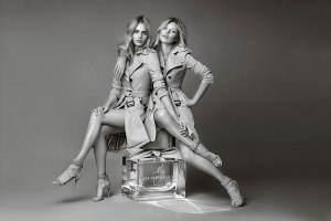 Kate Moss & Cara Delevingne For 'My Burberry' Fragrance