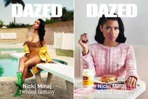 Nicki Minaj Autumn/Winter of Dazed