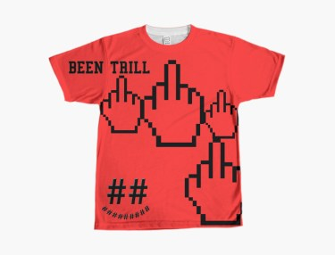 Been Trill Launches Custom T-Shirt Website