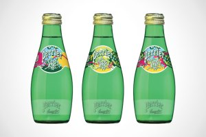 Perrier Water Limited 'Street Art' Collection