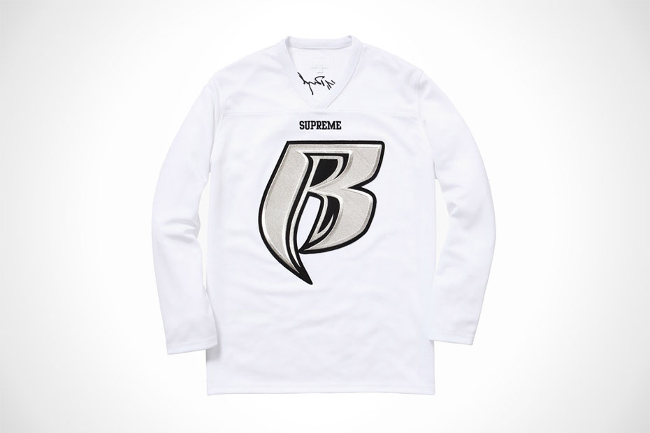 62761742f Supreme x Ruff Ryders Hockey Jersey