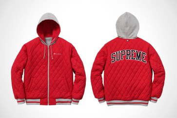Supreme x Champion Reversible Hooded Jackets