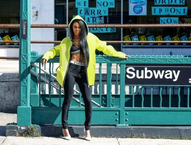 Teyana Taylor For Elle