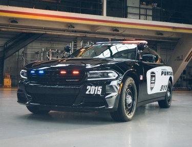 A Closer Look At The 2015 Dodge Charger Pursuit