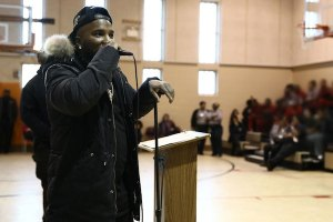 Jeezy visits Wayne County Juvenile Detention Center in Detroit
