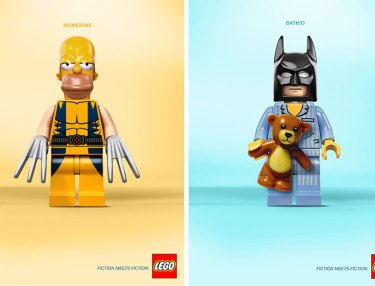 LEGO x Pop Culture -- Fiction Meets Fiction