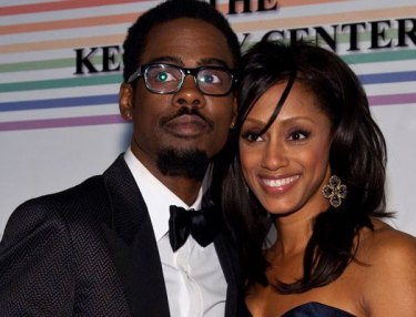 Chris Rock and wife Malaak Compton-Rock